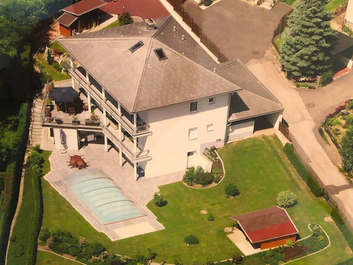 Luftaufnahme Haus