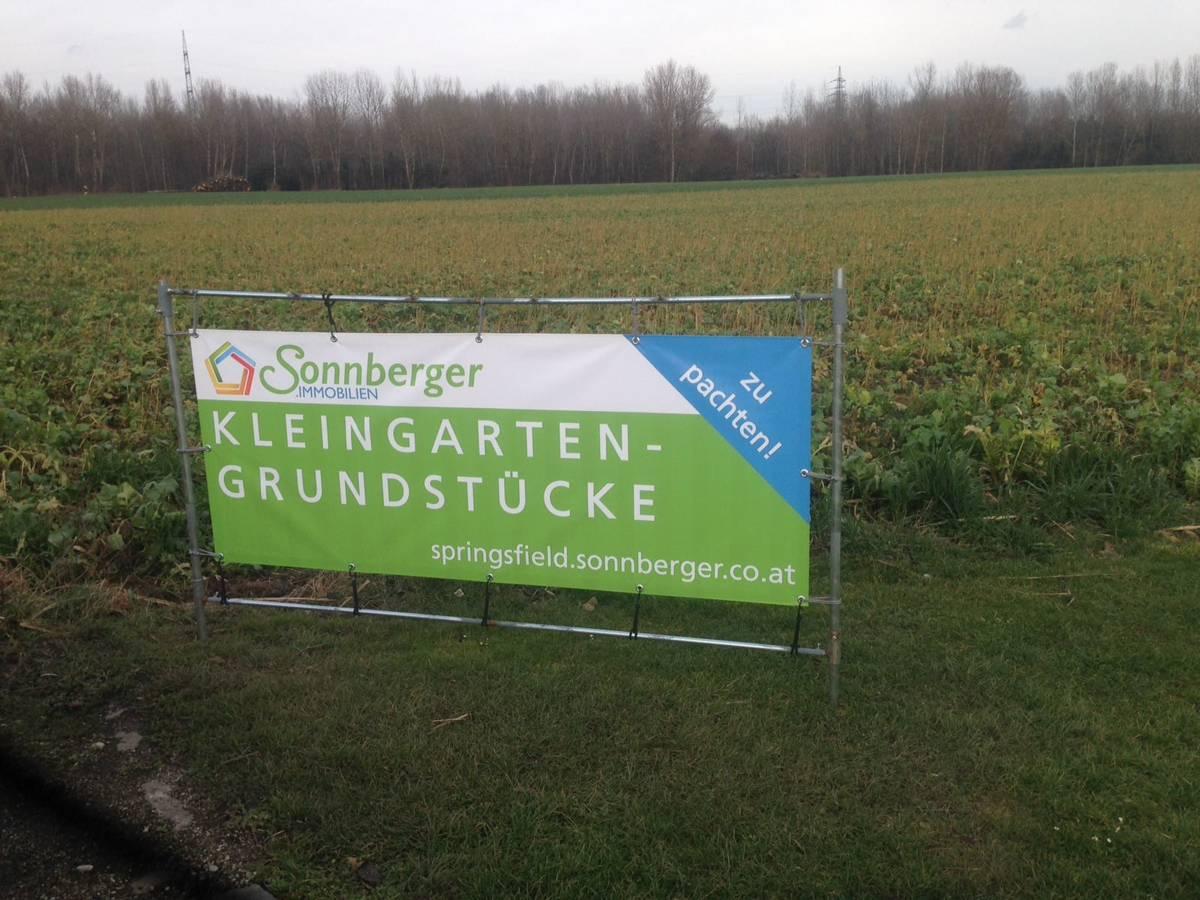 Kleingarten - Grundstücke