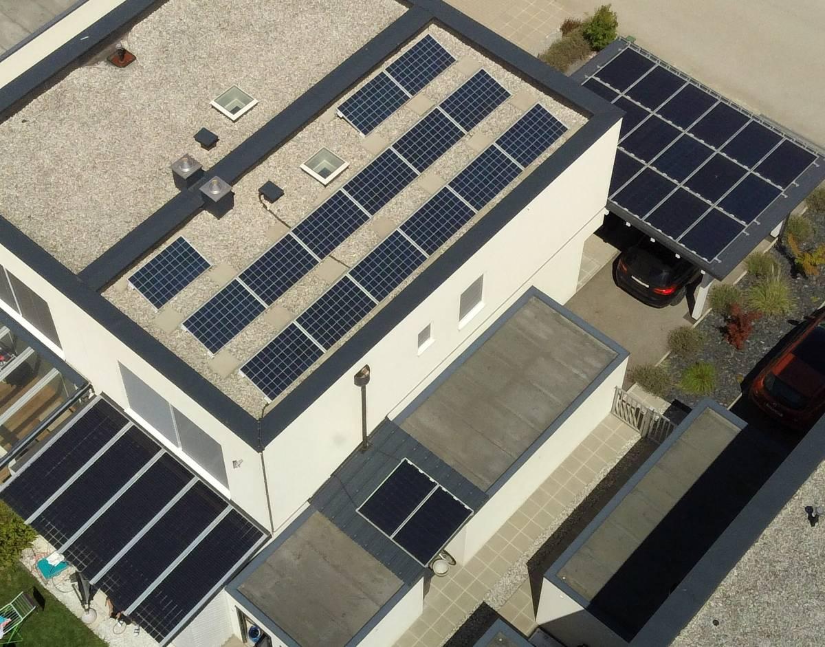 Luftaufnahme PV-ANLAGE